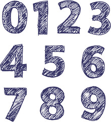 pencil numbers