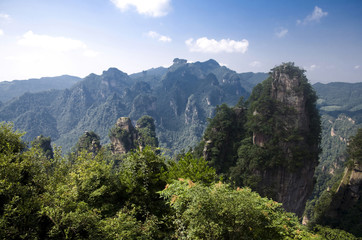 The Zhangjiajie National Forest Park