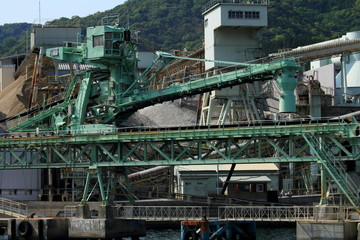 大分の工場地帯