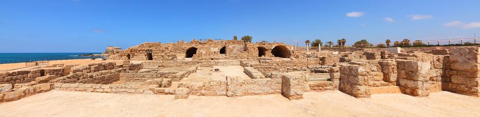 Old city on the Mediterranean sea