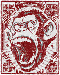 Screaming monkey