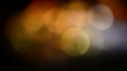 Blurred, bokeh lights background-1080p loop