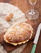 Cream and pine nuts brioche