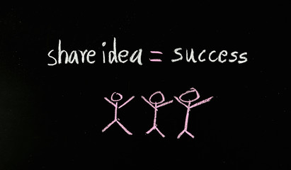share idea to success