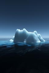 Night Iceberg