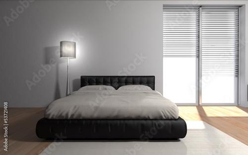 canvas print picture modern bedroom interior - Wohndesign - Schlafzimmer