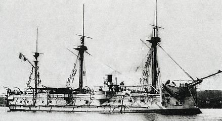 French ironclad Triomphante
