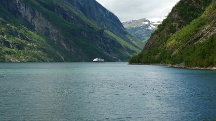Geirangerfjord from the ferry
