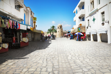 Street in Sousse, Tunisia