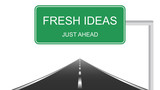 Fresh ideas just ahead