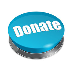 Donate round 3d button