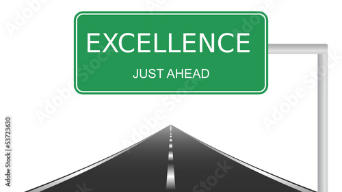 Excellence just ahead