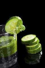 Luxurious green drink