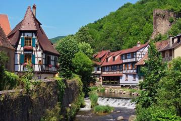 Kaysersberg , Alsace (Fr).