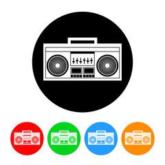 Boombox Radio Icon