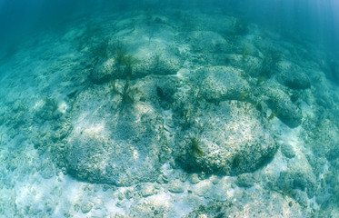Bimini Road  is an underwater rock formation