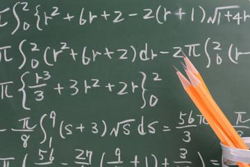 教育イメージ―数式と鉛筆