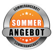 5 Star Button orange SOMMERANGEBOT DTO DTO