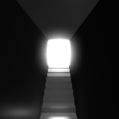 Tunnel laght rendered