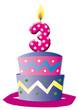 Geburtstag, Hochzeitstag, Torte, Kuchen, Gleuckwünsche,  Jubila