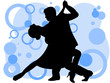 Casal a dançar o tango