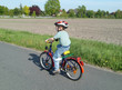 Junger Radfahrer