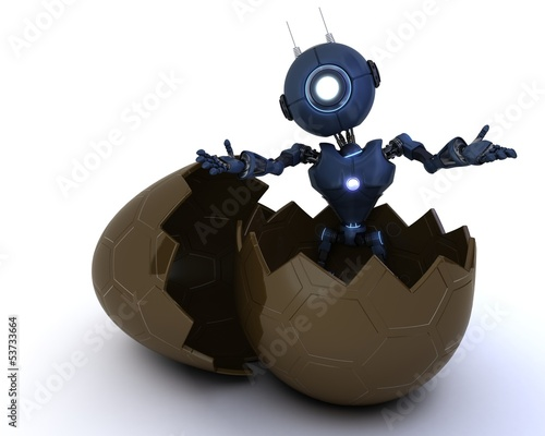 android sat in easter egg