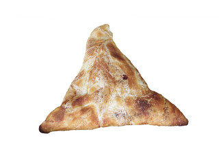 треугольная булочка.