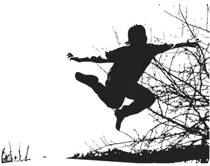springender-Junge
