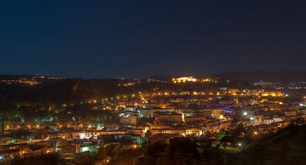 Cosenza by night