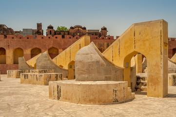 Astronomy instruments in Jantar Mantar