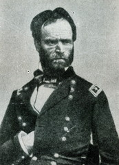 US general William Tecumseh Sherman