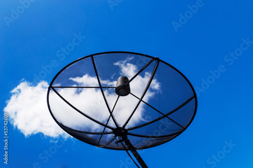 Satellite dish On home