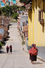 Street of Chichicastenango