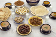 Traditional Moroccan meal for iftar in Ramadan
