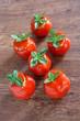 Pomodori ripieni al cous cous di verdure
