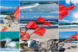 Ostsee, Sommer, Collage, Querformat