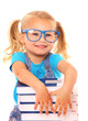 Smart young girl