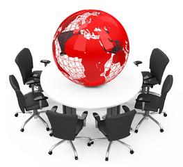 Das weltweite Management