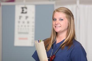White Female Nurse