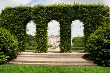 Jardin du musée Rodin à Paris