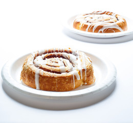 Cinnamon Rolls in Window Light