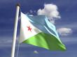 Dijibouti Flag