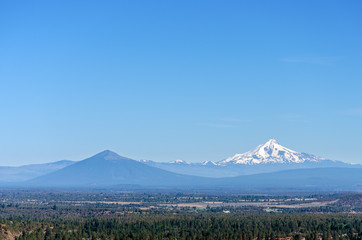 Mount Jefferson Wide View