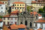 Igreja da Misericórdia at Rua das Flores, Oporto, Portugal poster