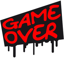 Game Over Graffiti