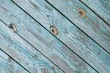 old chapped blue wooden background poster