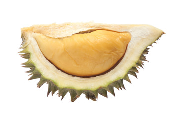 Durian isolated on white back ground