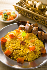 arab food, ramadan foods in middle east usually served with tand