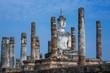 Ancient buddha statue  Sukhothai Historical Park